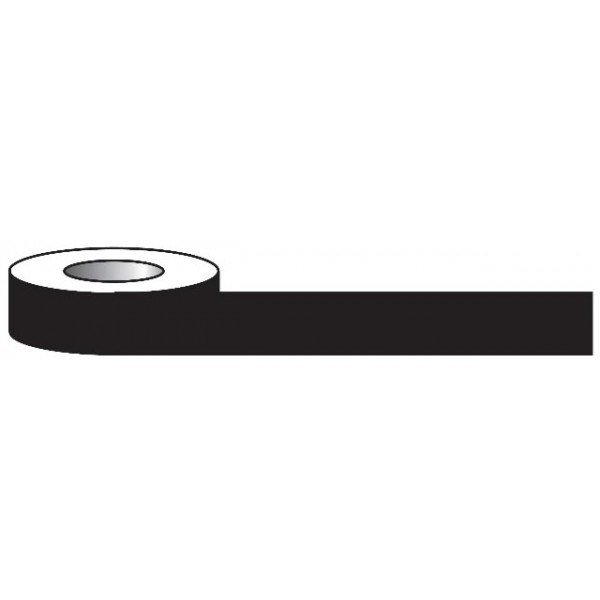 Aisle Marking Tape - Black - 33m x 50mm