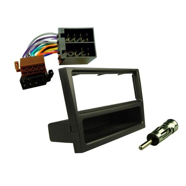 Stereo Fitting Kit - Vauxhall Black
