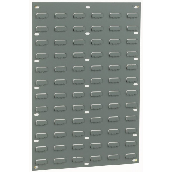 Louvre Wall Panel - Grey - 72 Louvres - 641 x 457mm