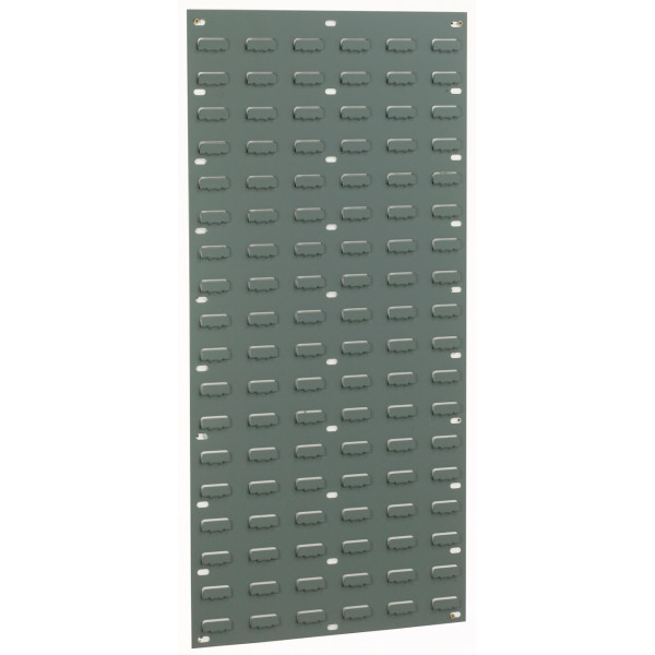 Louvre Wall Panel - Grey - 108 Louvres - 946 x 457mm