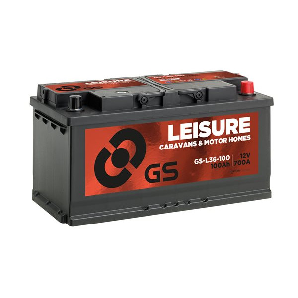 Leisure Battery - 12V - 100Ah - 700CCA