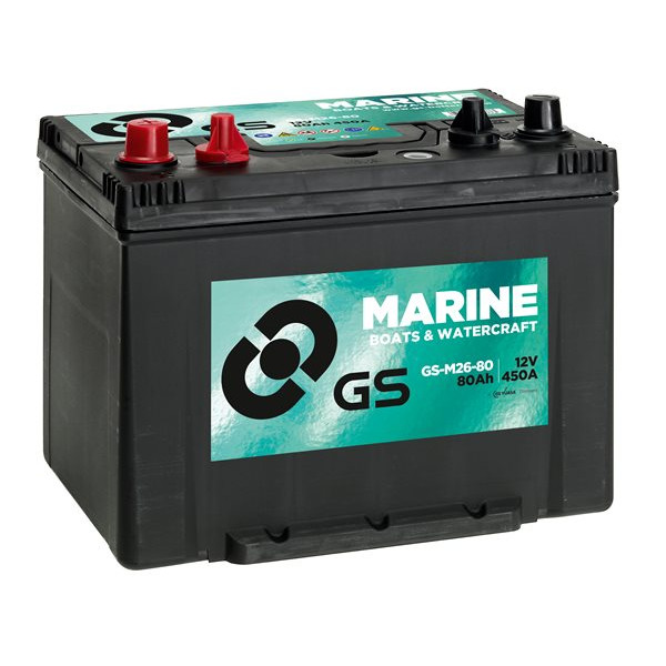 Leisure / Marine Battery - 12V - 80Ah - 450CCA