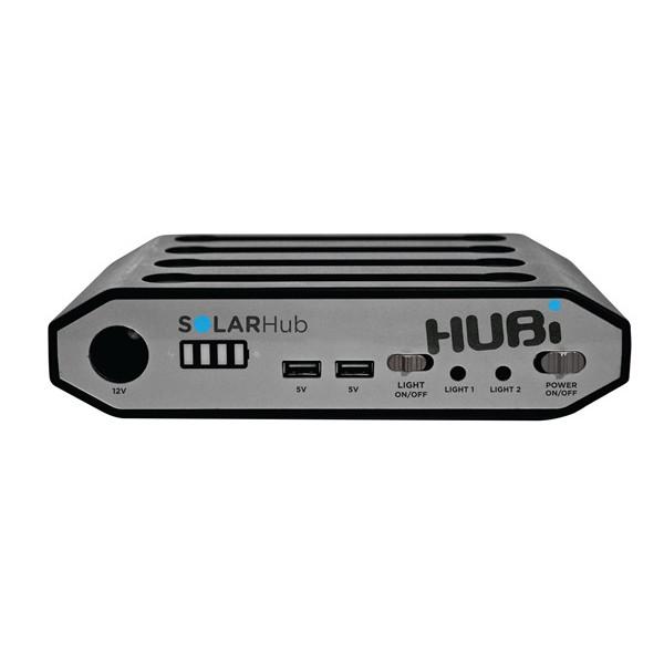 HUBi 10K Solar Power Lighting & Charging Expansion Pack
