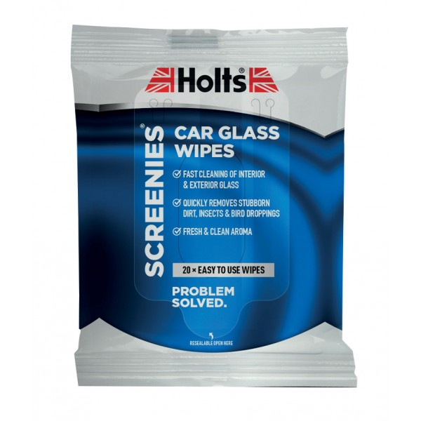 Screenies Car Glass Wipes - Pack of 20