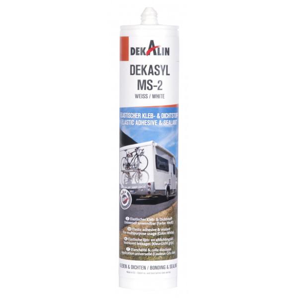 Dekasyl MS-2 Elastic Adhesive & Sealant Cartridge - White - 290ml