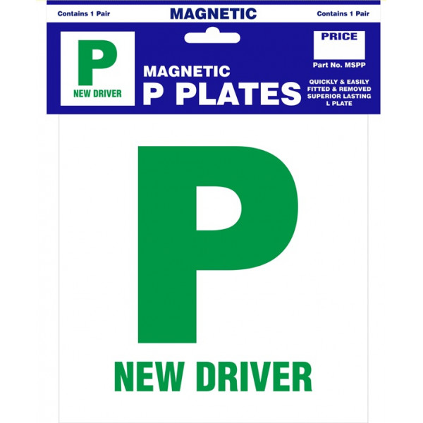 P Plates - Magnetic - Pair