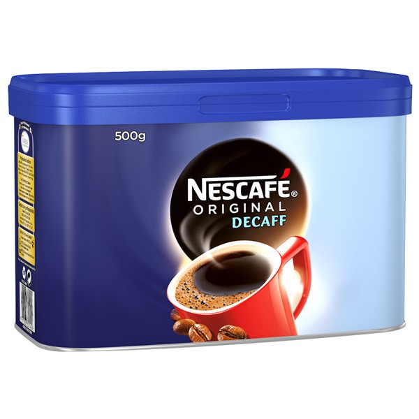 Decaff Coffee Granules - 500g Tin