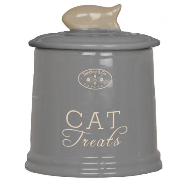 Cat Ceramic Storage Jar