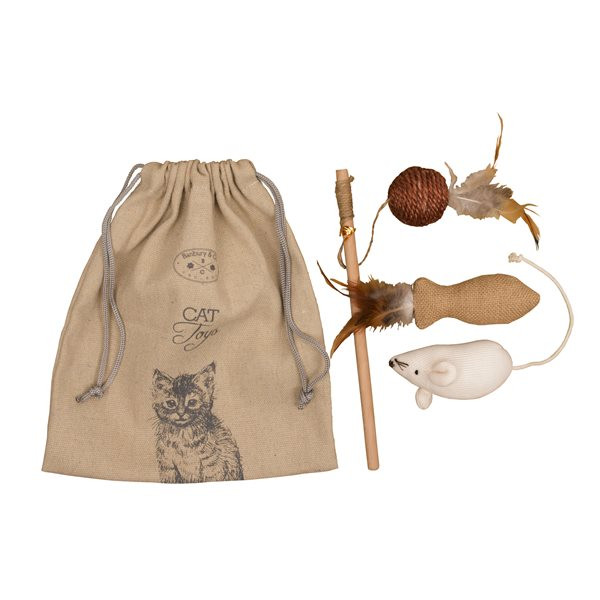 Luxury Cat Toy Gift Bag