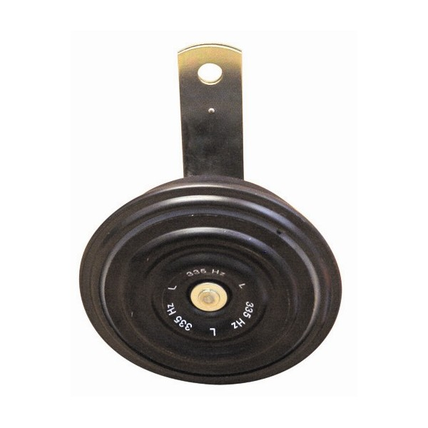 Disc Horn - Black - Low Note - 2-Pin