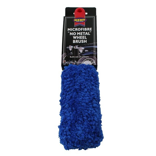 Microfibre 'No Metal' Alloy Wheel Brush