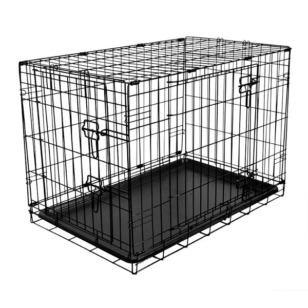 Fold Flat Metal Crate - Medium