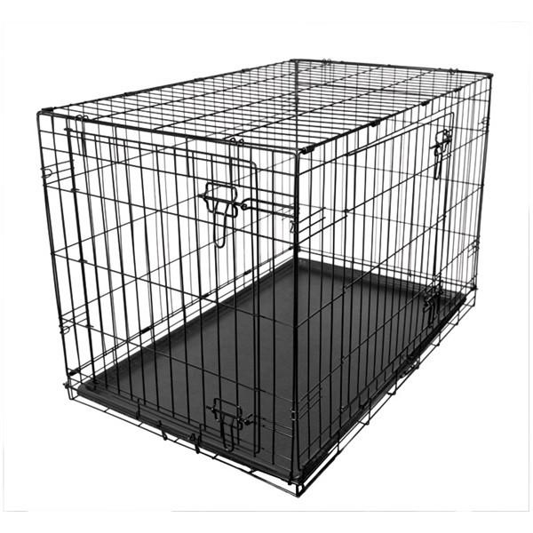 Fold Flat Metal Crate - Large