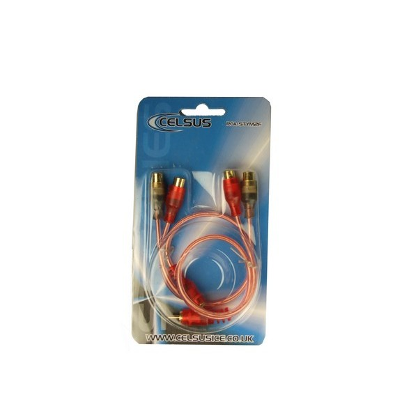 Phono Cable - Connect ST - Male to Female Y Leads