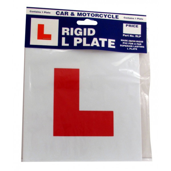 L Plate - Rigid - Single