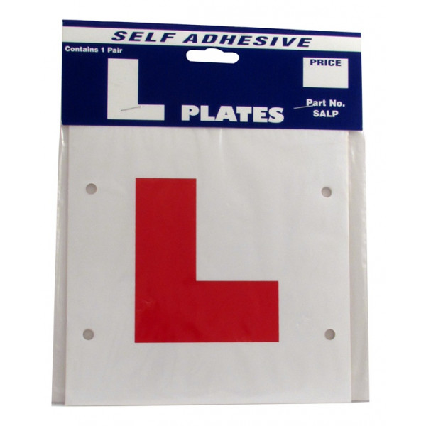 L Plates - Self Adhesive - Pair