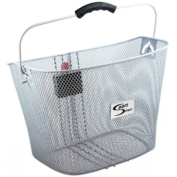 Quick Release Front Basket - Silver