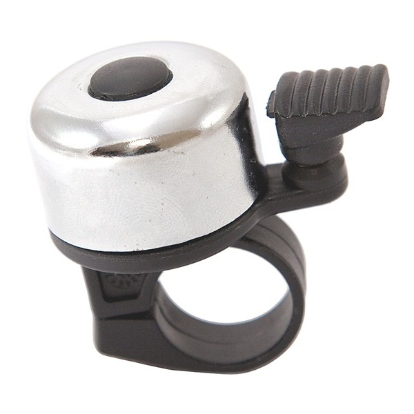 Mini Ping Cycle Racing Bell - Silver