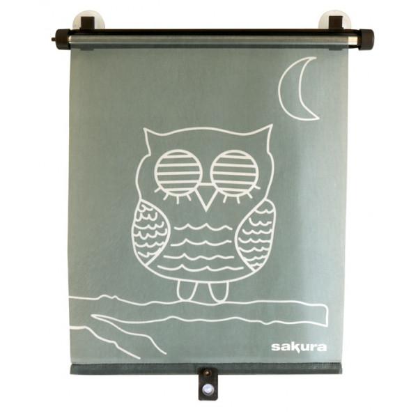 Side Sunshades - Rollerblind - Owl - Pack of 2