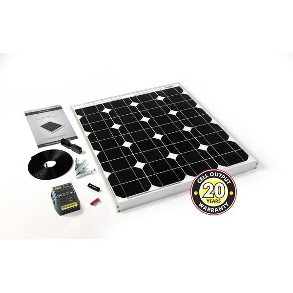 Solar Panel Inc. Cable, Connectors & 4Ah Controller - 45Wp